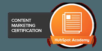 hubspot content certified agency