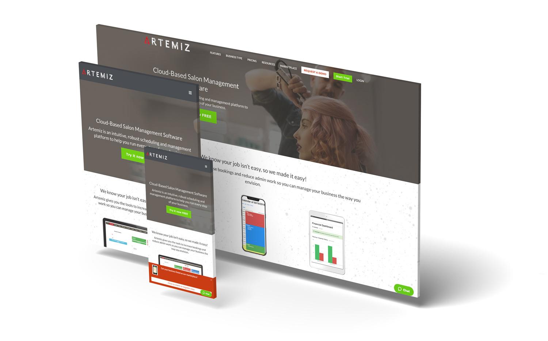 Saas web design software