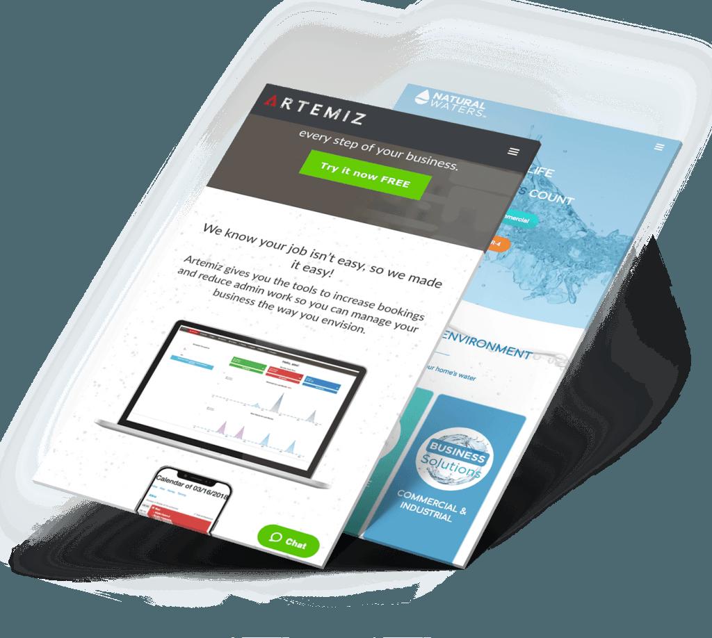 data driven web design company