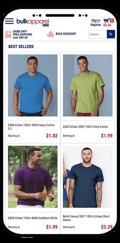 mobile ecommerce website design company